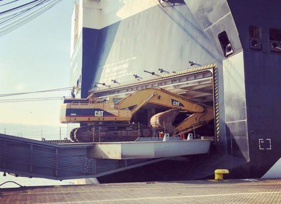 excavator shipping malaysia