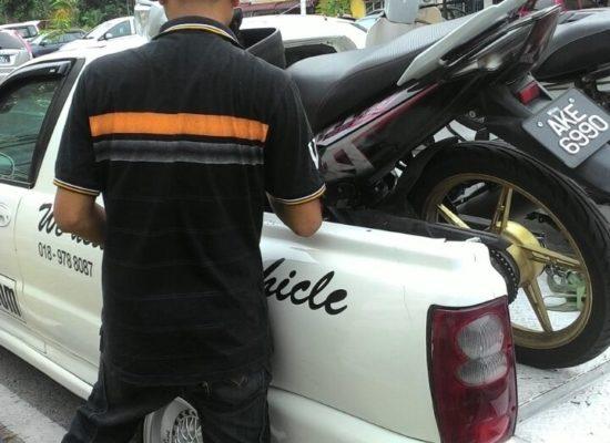 pick up pos motor ke sarawak